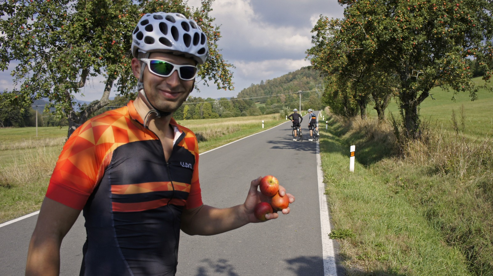 cycling break for apple stop