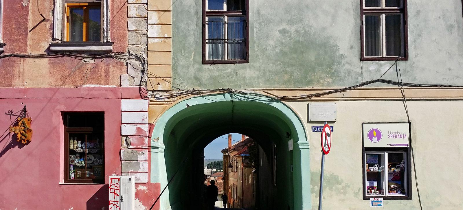 nasze mieszkanie na rynku w Sibiu.