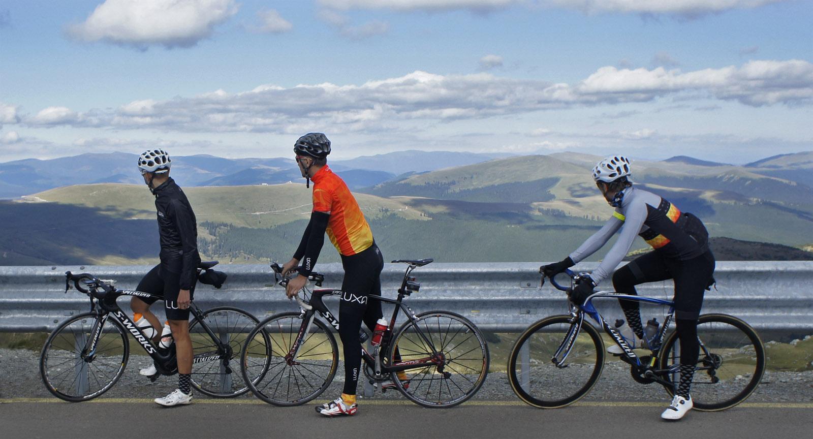 luxa romania rumunia cycling rower trip