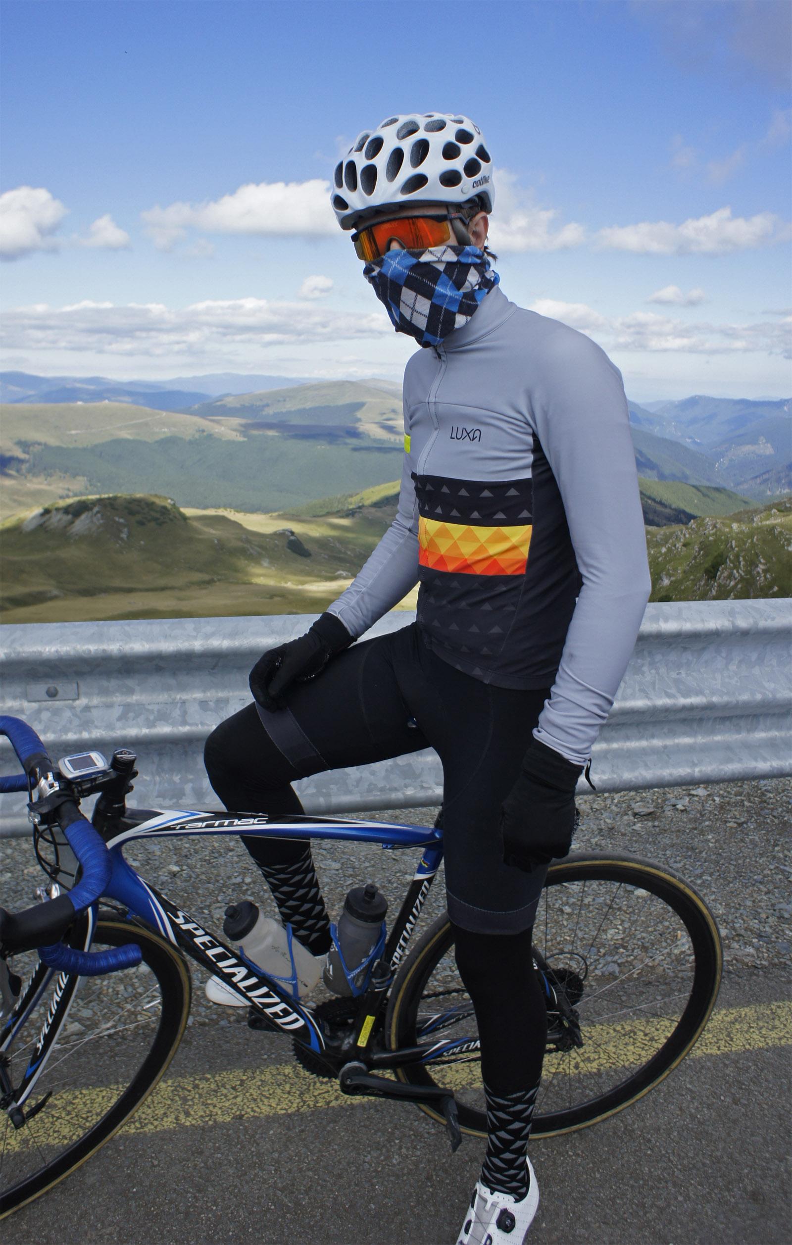 nasz ghost rider przygotowany do zjazdu
