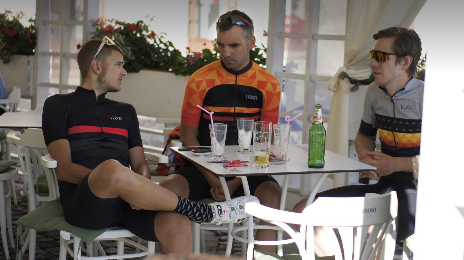 luxa on coffe and beer break in sibiu romania