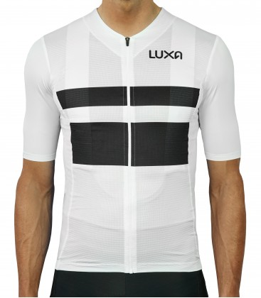 White Night Cycling Jersey