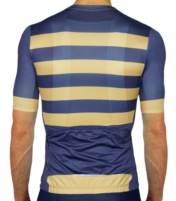 Bling Navy cycling jersey