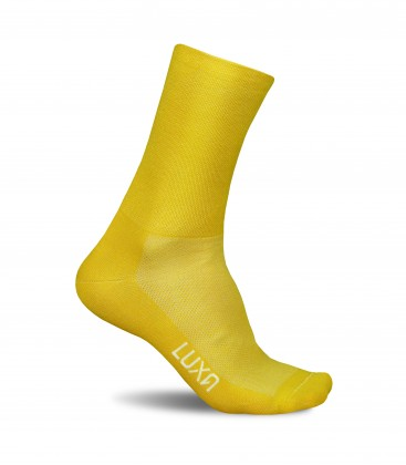 Sunrise Yellow Cycling Socks
