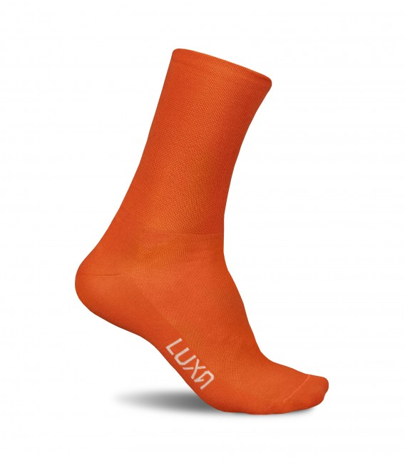 Sunset Cycling Socks in Orange simply style