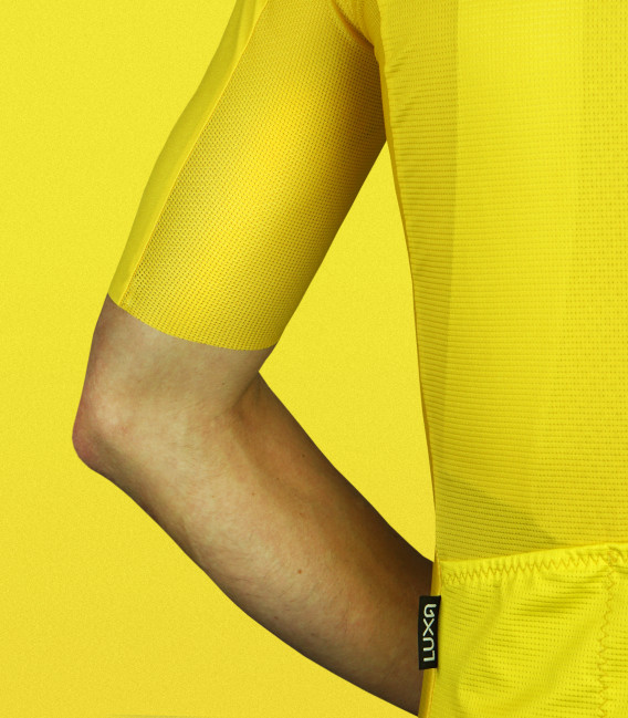 Amarello Summer Yellow Cycling Jersey
