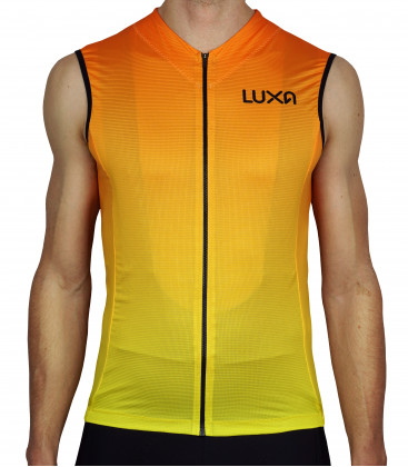 Sunrise Sleeveless Cycling Jersey