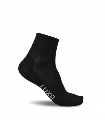 Black Night Short Cycling Socks