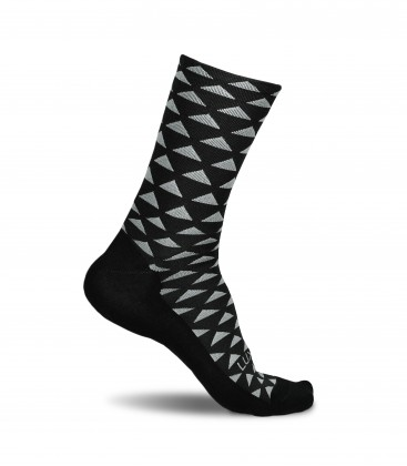Triangle Jungle Cycling Socks