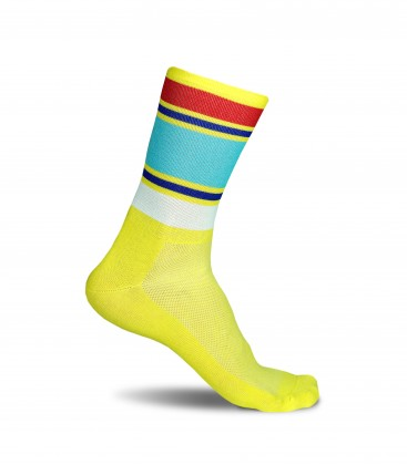 Summer Stripes Cycling Socks