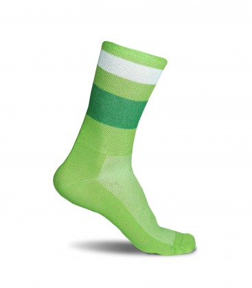 Green Night Cycling Socks