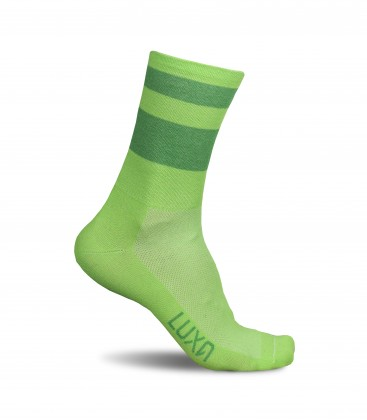 Green Night II Cycling Socks