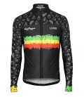 Plant Power Vegan Long Sleeve Cycling Jersey