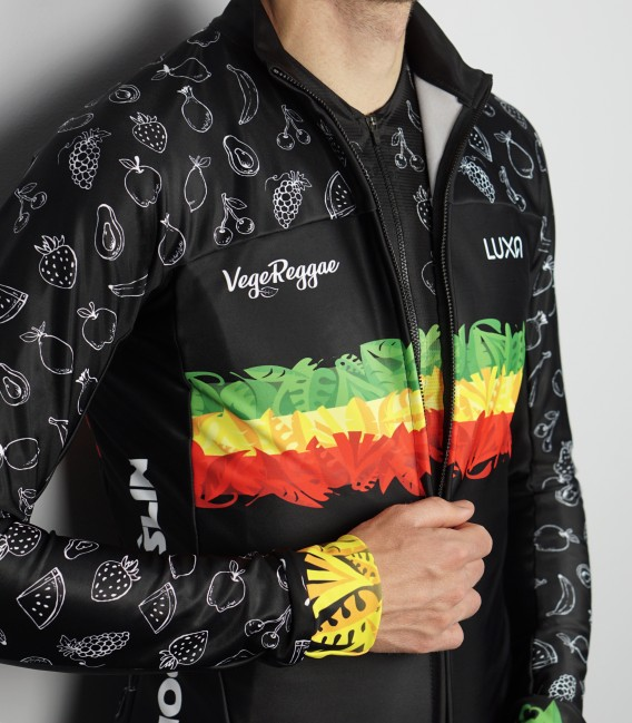 Plant Power long sleeve cycling jersey [PREORDER]